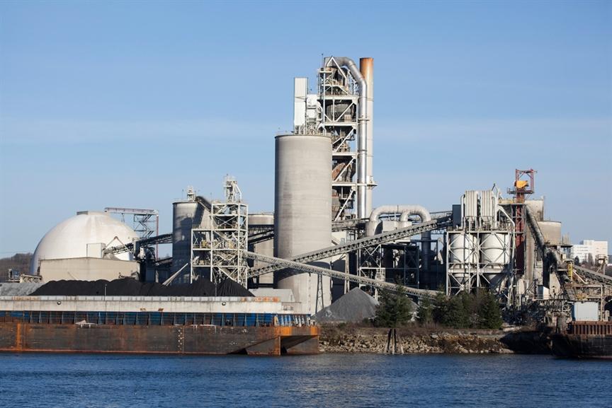 Фабрика по производству цемента