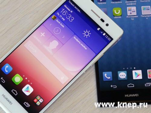 Новинка Huawei – Ascend P7