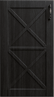 Темно-коричневый декор