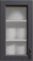 Темно-серый витрина