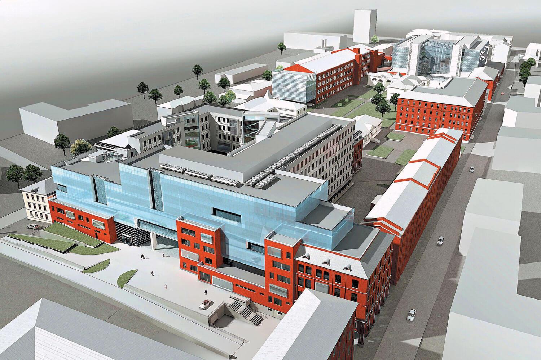 Классификация промышленных зданий и требования к ним