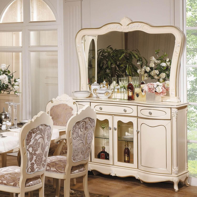 Белый комод в гостиную