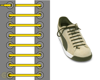 Коммандос шнуровка