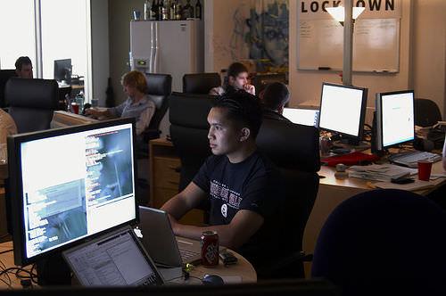 Фото офис компании Facebook
