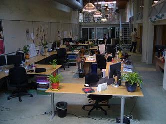 Фото офис компании Twitter