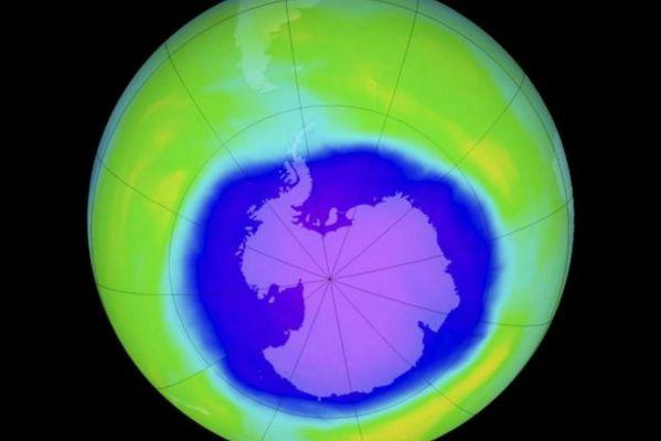 Озоновая дыра над Беларусью
