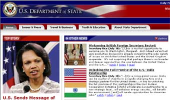 Хакеры взломали сеть Госдепартамента США