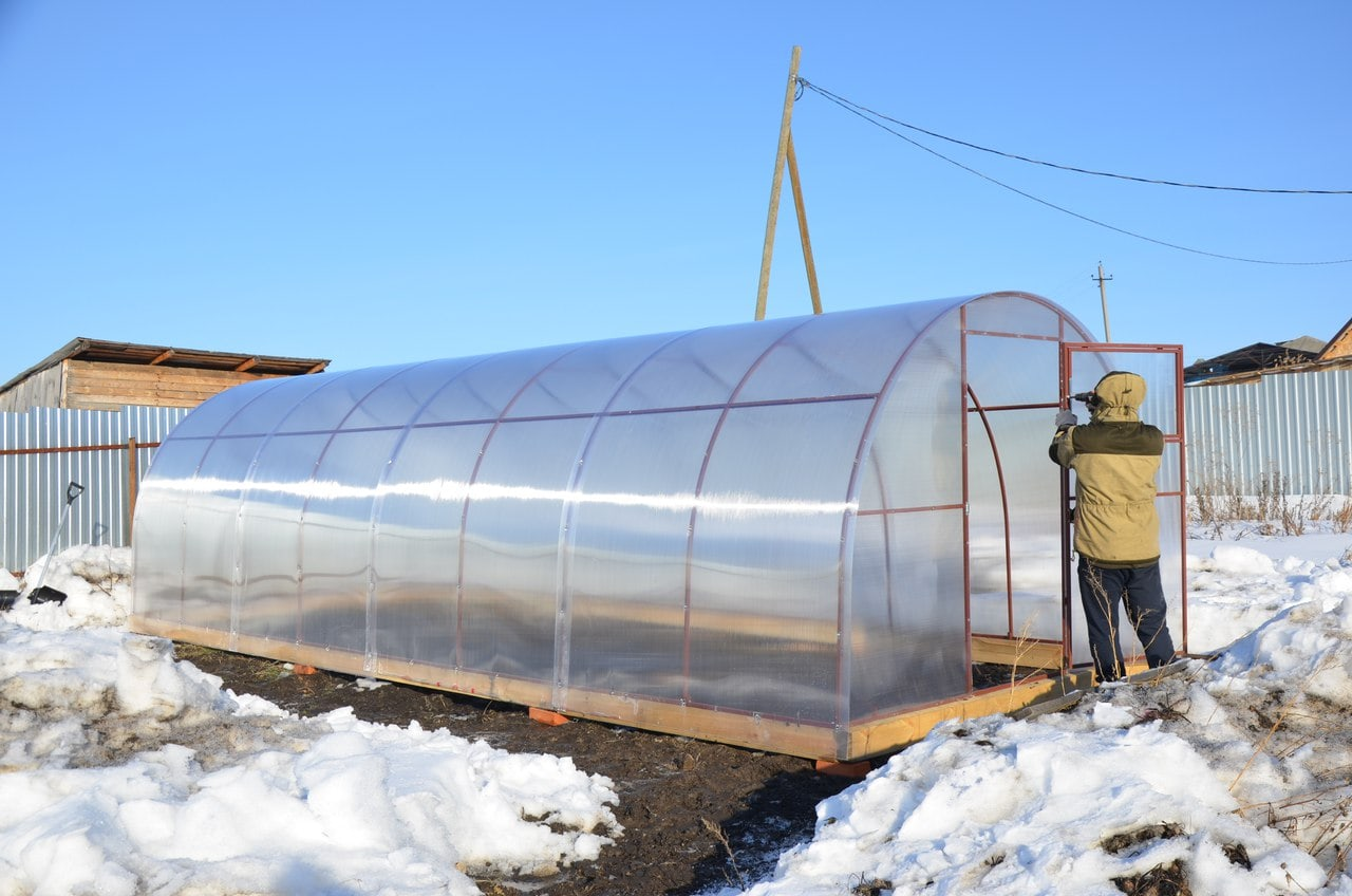 Проект теплицы из поликарбоната своими руками