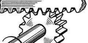 Реечный механизм, винтовой и кулисный