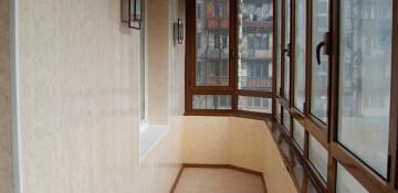 Какой материал выбрать для отделки балкона