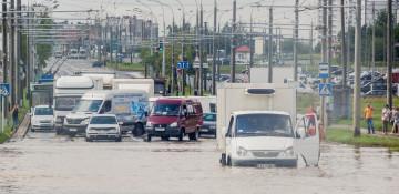 Шторм в Минске 13 июля 2016
