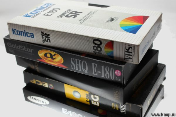 Видеокассеты сняты с производства